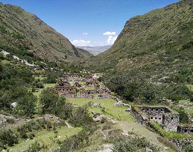 Inca trail te most popular hike in south america,located in the national park of machu picchu
