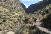 Huchuy Qosqo, mystical archaeological center located in the upper part of the Sacred Valley of the Incas in Cusco