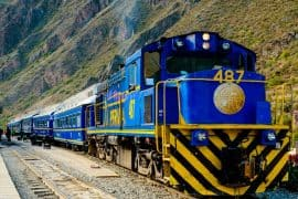 One day Machu Picchu by train
