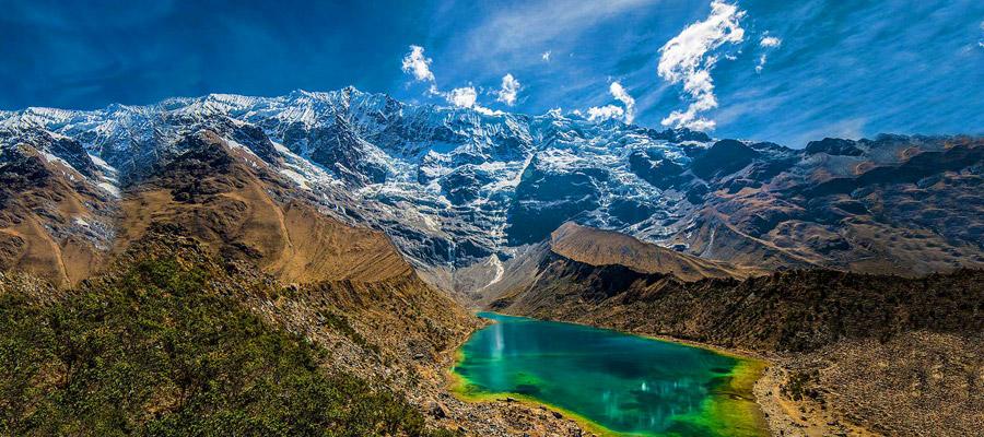 Salkantay trek to Machu Picchu: