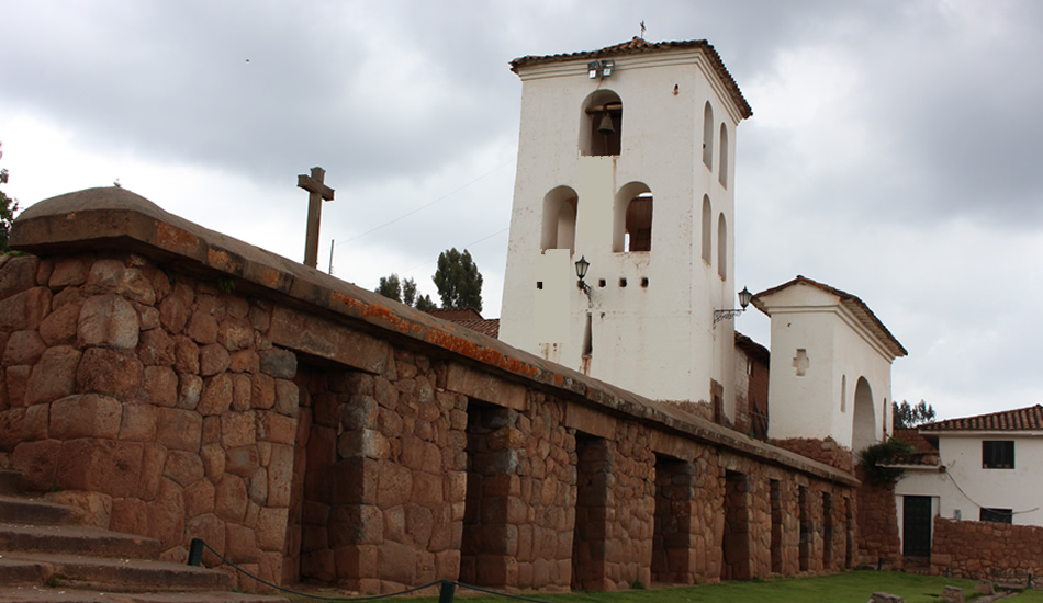 Chinchero hike to the sacred valley - Chinchero colonial temple
