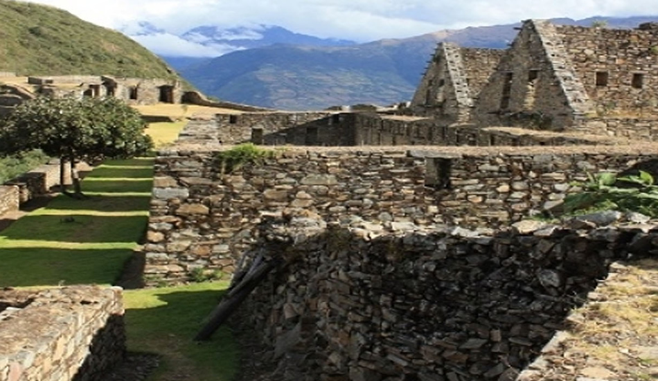 Choquequirao 4 days - urban sector