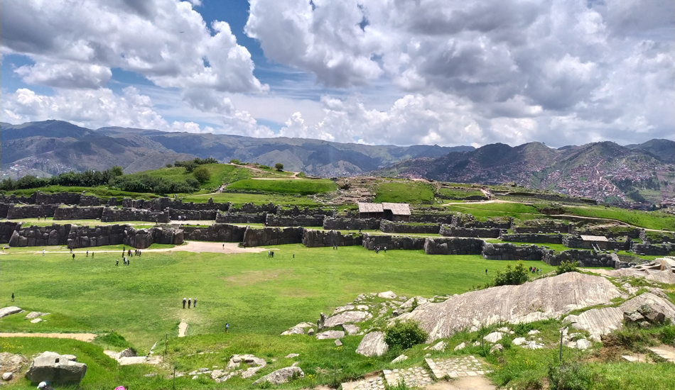 Cusco city tour - sacsayhuaman inca remain