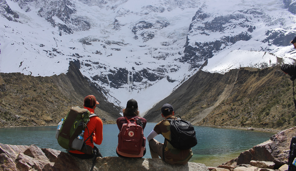 Salkantay trek - humantay lake