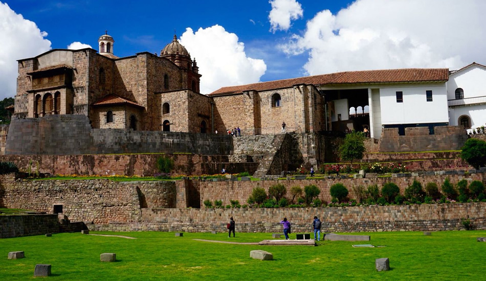 cusco city tour - coricancha sun temple