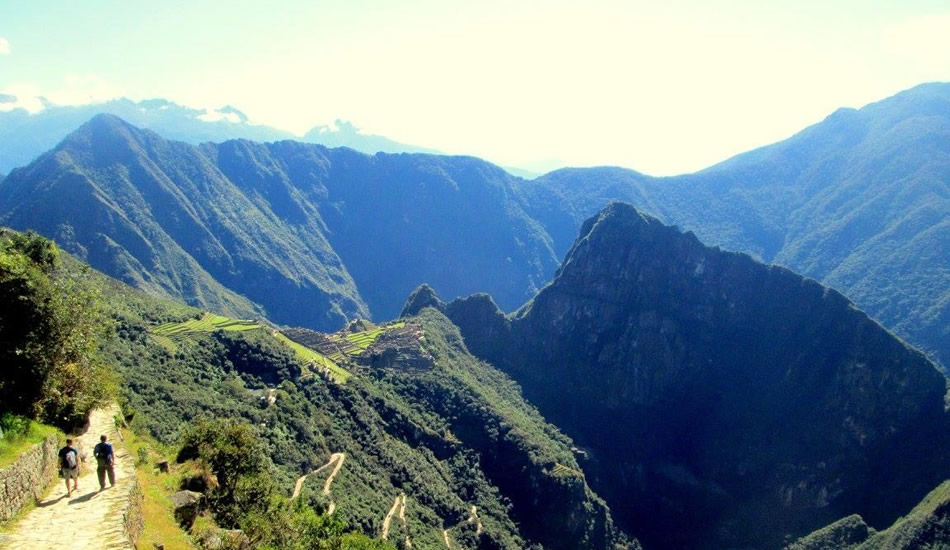 short inca trail - sun gate